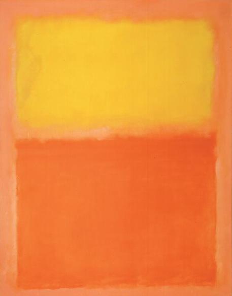 Orange and Yellow, 1956